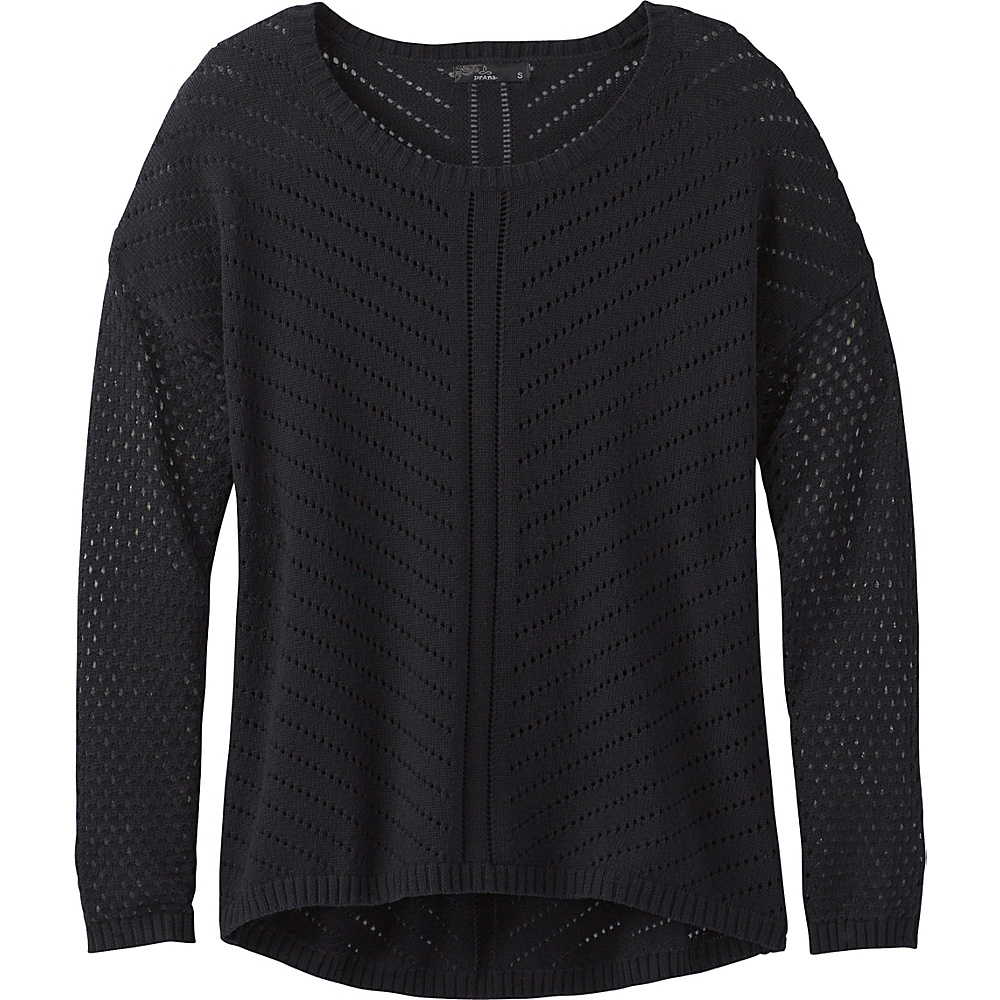 PrAna Parker Sweater S - Black - PrAna Womens Apparel - Apparel & Footwear, Women's Apparel