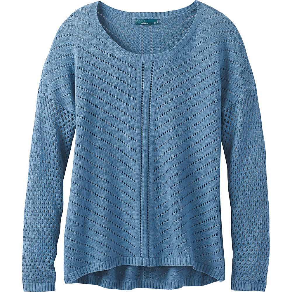 PrAna Parker Sweater M - Dusky Skies - PrAna Womens Apparel - Apparel & Footwear, Women's Apparel