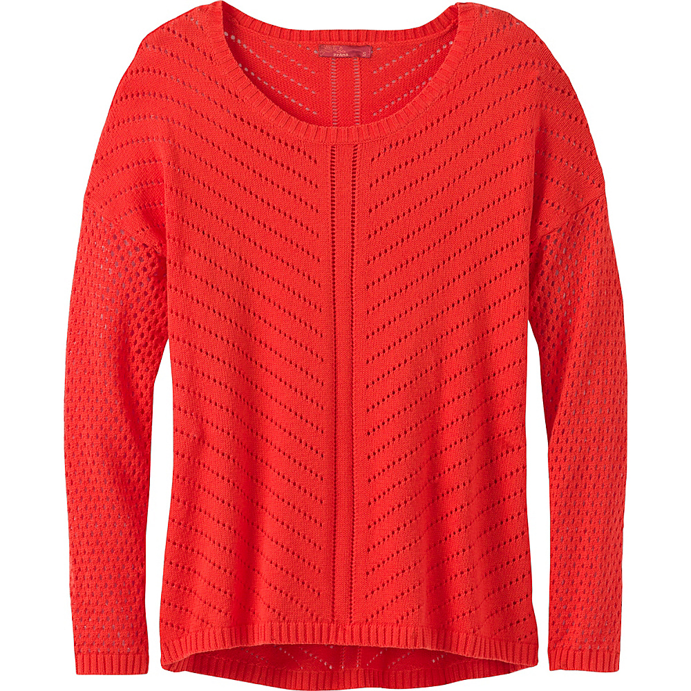 PrAna Parker Sweater M - Koi - PrAna Womens Apparel - Apparel & Footwear, Women's Apparel