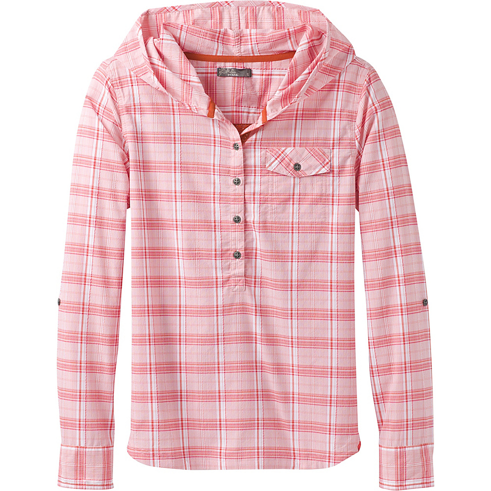 PrAna Anja Top S - Cosmo Pink - PrAna Womens Apparel - Apparel & Footwear, Women's Apparel
