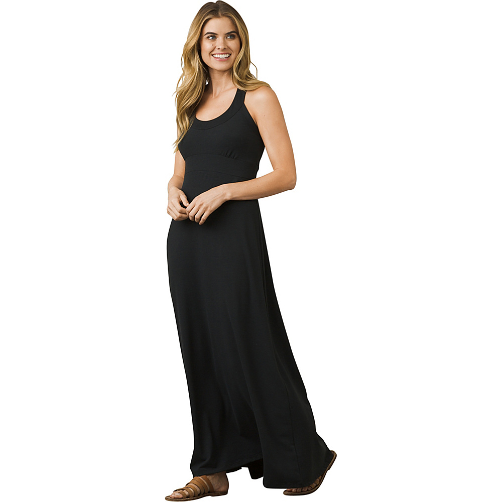 PrAna Cali Maxi Dress M - Black - PrAna Womens Apparel - Apparel & Footwear, Women's Apparel