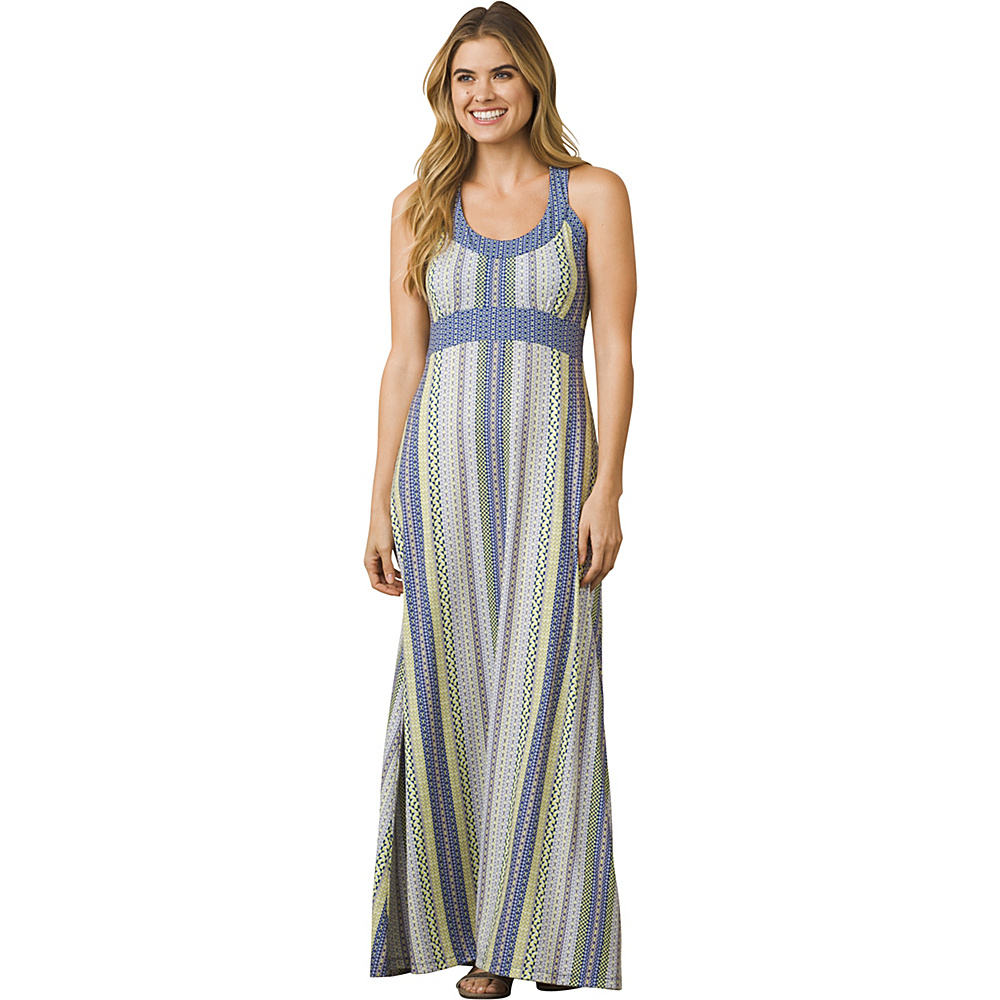 PrAna Cali Maxi Dress XS - Lavender Carnivale - PrAna Womens Apparel - Apparel & Footwear, Women's Apparel