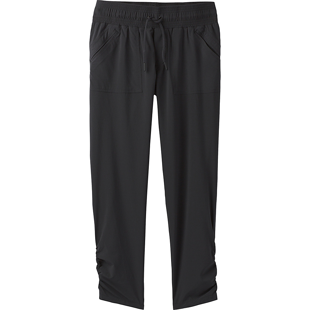 PrAna Midtown Capri XL - Black - PrAna Womens Apparel - Apparel & Footwear, Women's Apparel