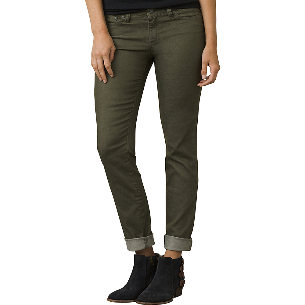 PrAna Kayla Jean - Tall Inseam 18 - Cargo Green - PrAna Womens Apparel - Apparel & Footwear, Women's Apparel