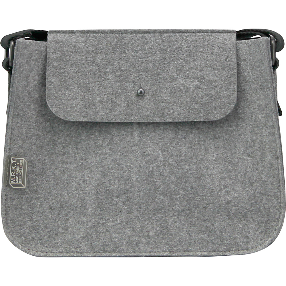 Mad Rabbit Kicking Tiger Palmer Mini Shoulder Bag Elephant Grey Mad Rabbit Kicking Tiger Gym Bags