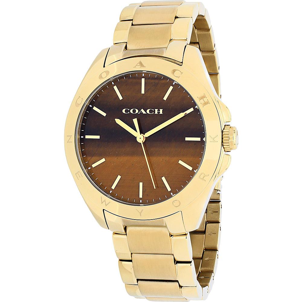 Coach Watches Coach Women's Tristen Watch Brown - Coach Watches Watches