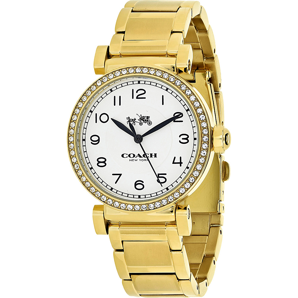 Coach Watches Coach Women's Madison Watch White - Coach Watches Watches