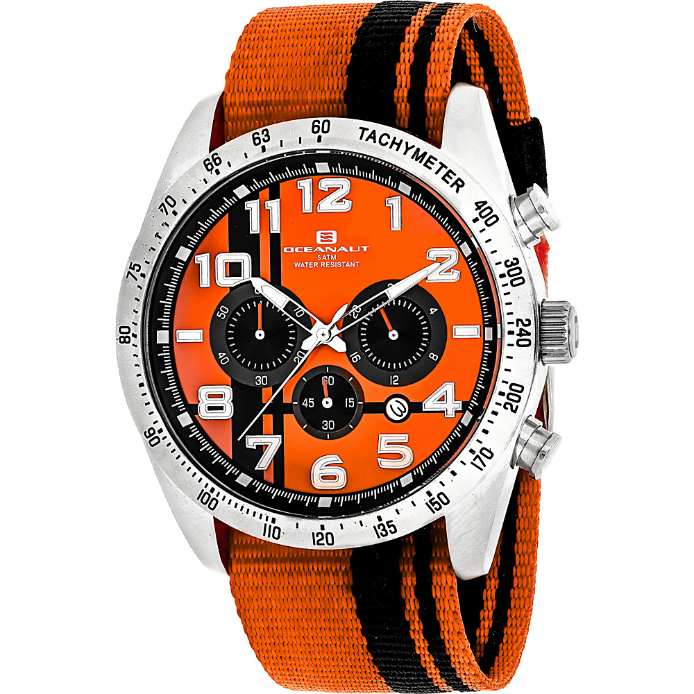 Oceanaut Watches Men s Milano Watch Orange Oceanaut Watches Watches