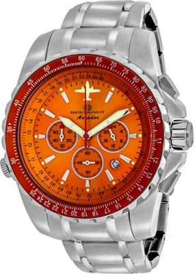 Oceanaut Watches Men's Aviador Pilot Watch Orange - Oceanaut Watches Watches