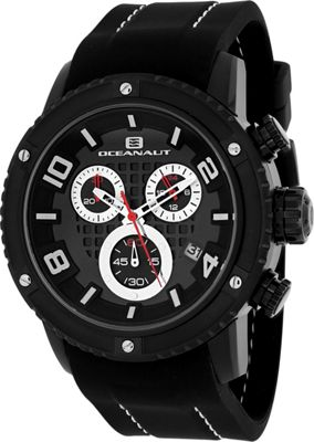 Oceanaut Watches Men's Impulse Sport Watch Black - Oceanaut Watches Watches