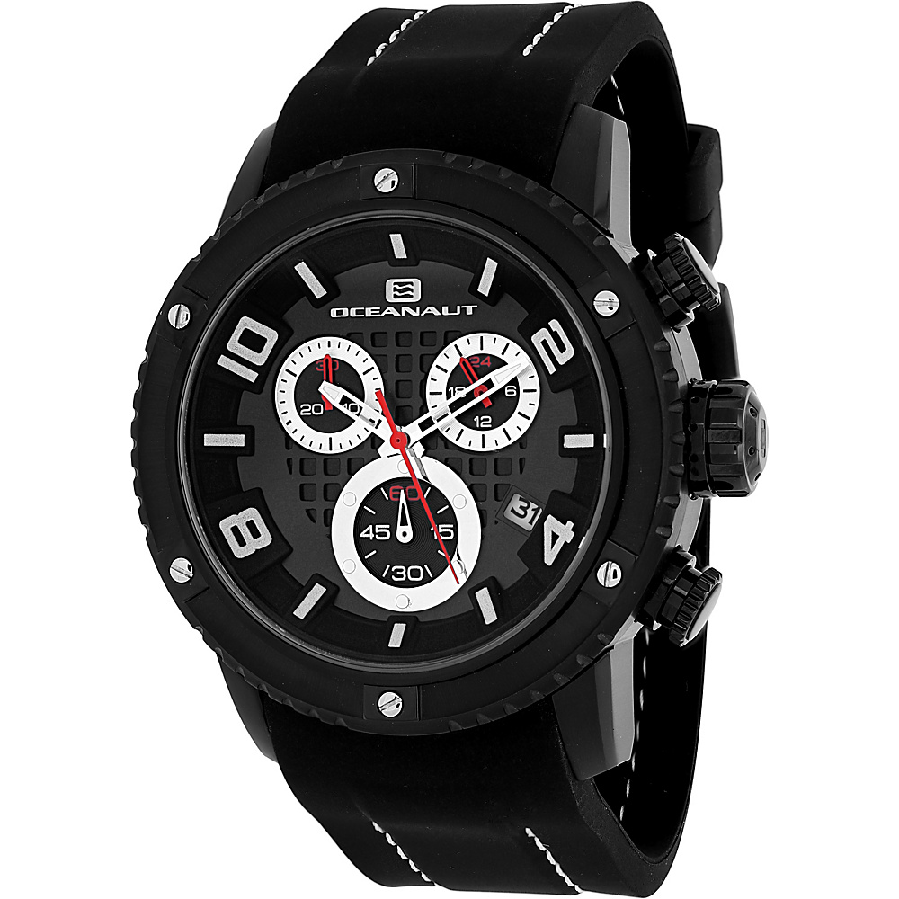 Oceanaut Watches Men s Impulse Sport Watch Black Oceanaut Watches Watches