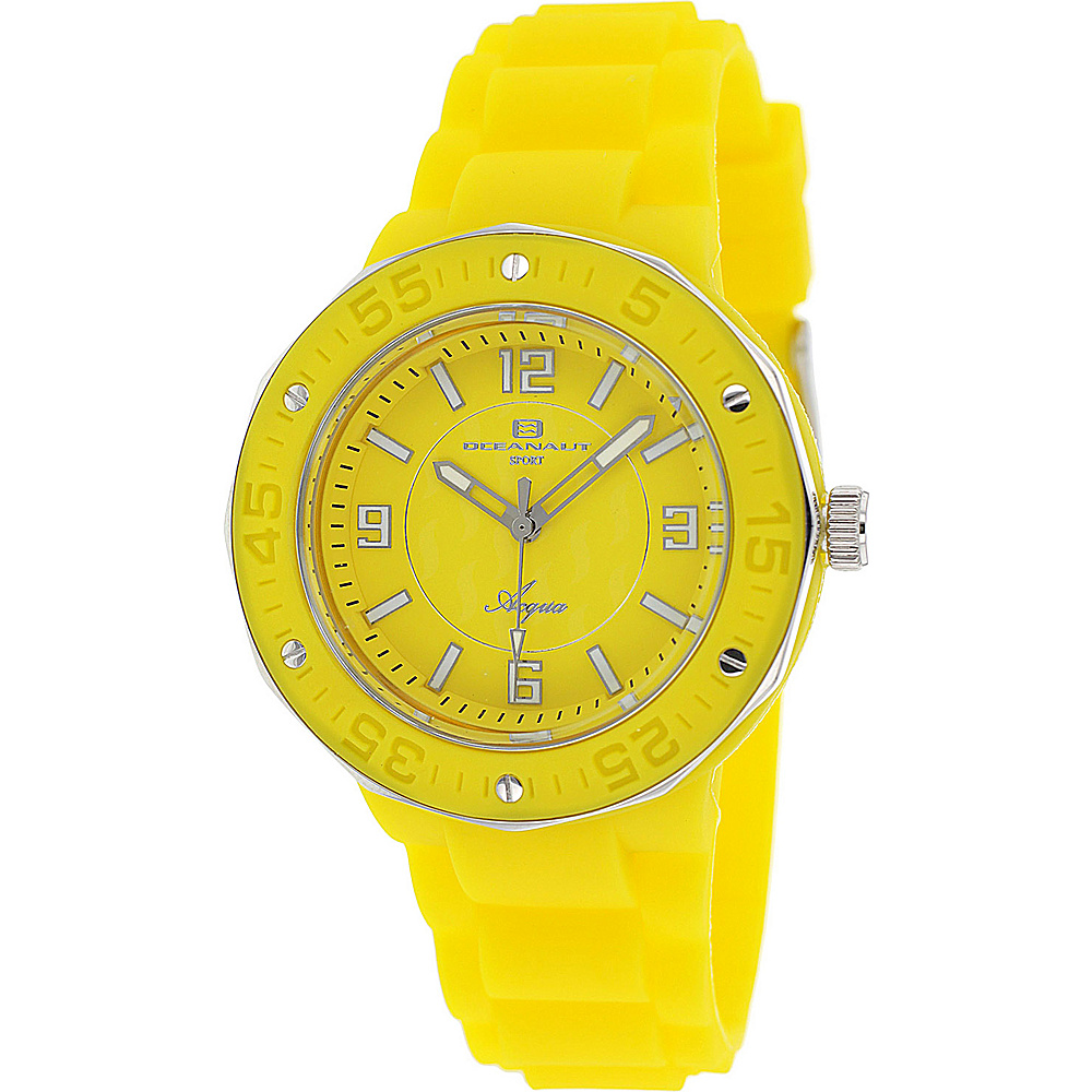 Oceanaut Watches Women s Acqua Watch Yellow Oceanaut Watches Watches