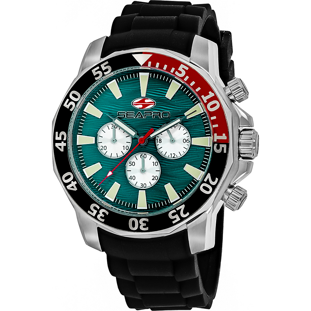 Seapro Watches Men s Scuba Explorer Watch Green Seapro Watches Watches