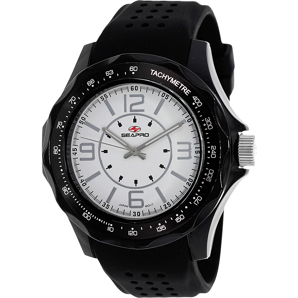 Seapro Watches Men s Dynamic Watch White Seapro Watches Watches