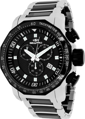 Seapro Watches Men's Coral Watch Black - Seapro Watches Watches