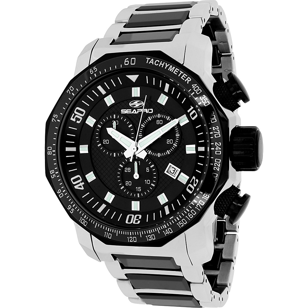 Seapro Watches Men s Coral Watch Black Seapro Watches Watches