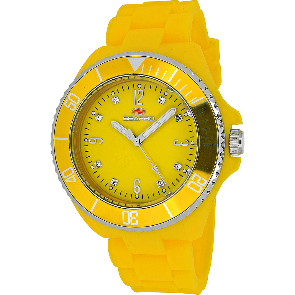 Seapro Watches Women s Sea Bubble Watch Yellow Seapro Watches Watches