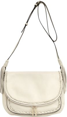 Tommy Bahama Handbags Abaco Messenger Crossbody White Sand - Tommy Bahama Handbags Leather Handbags
