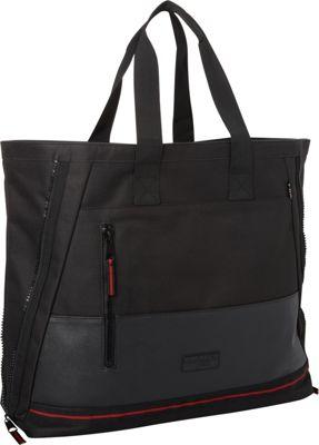Triple Five Soul 5th Ave Tote Bag Black - Triple Five Soul Leather Handbags