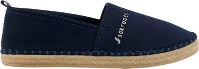 Sakroots Eton Espadrille Flat 8 - Navy - Sakroots Women's Footwear