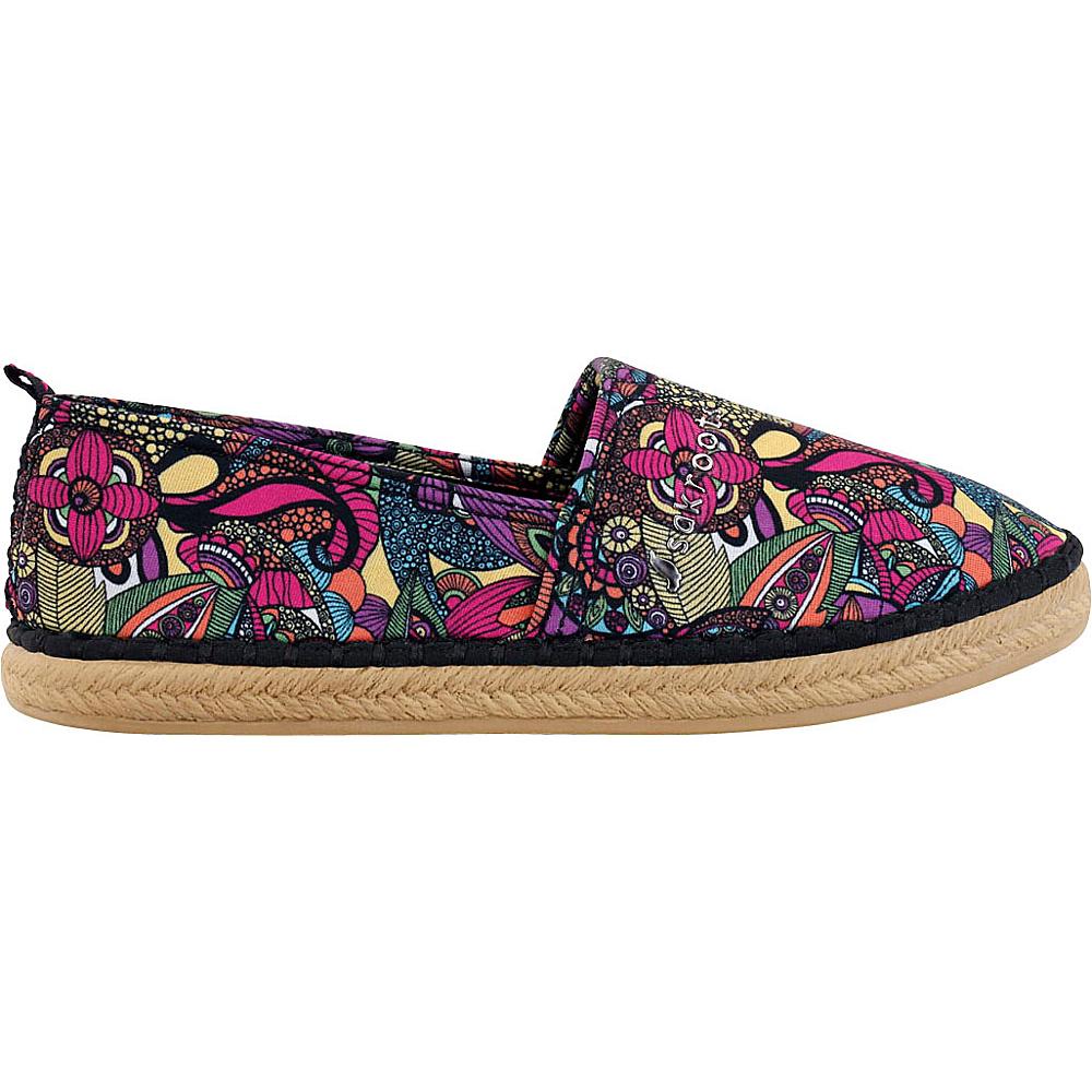 Sakroots Eton Espadrille Flat 6 - Rainbow Spirit Desert - Sakroots Womens Footwear - Apparel & Footwear, Women's Footwear