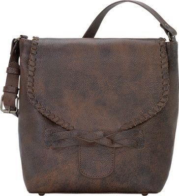 TrueLu The Claire Bucket Walnut - TrueLu Leather Handbags