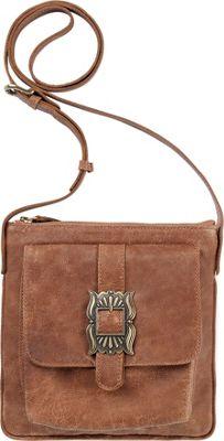 TrueLu The Mia Crossbody Clay - TrueLu Leather Handbags