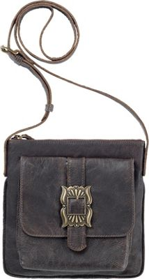 TrueLu The Mia Crossbody Coffee Bean - TrueLu Leather Handbags