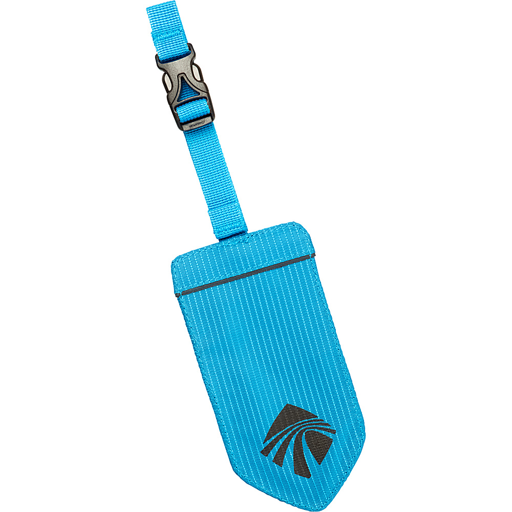 Eagle Creek Reflective Luggage Tag Brilliant Blue - Eagle Creek Luggage Accessories - Travel Accessories, Luggage Accessories