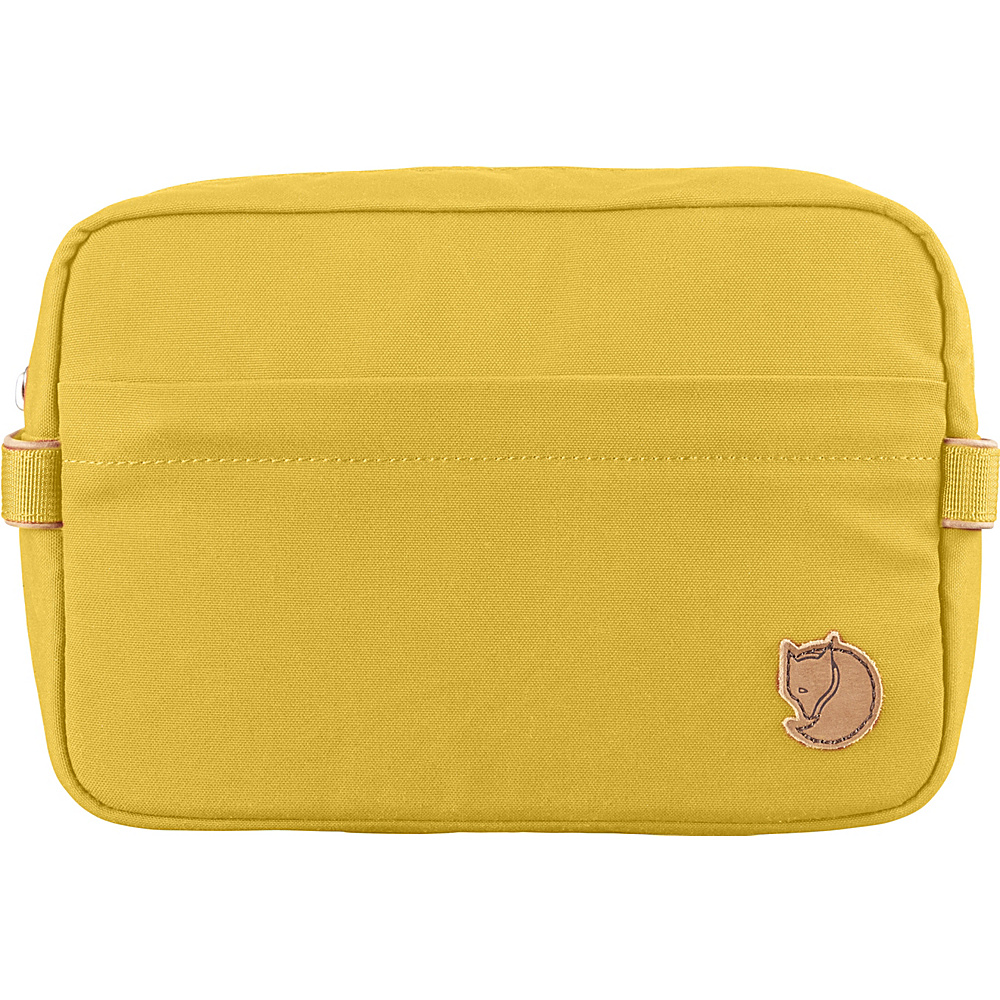Fjallraven Travel Toiletry Bag Ochre - Fjallraven Toiletry Kits - Travel Accessories, Toiletry Kits