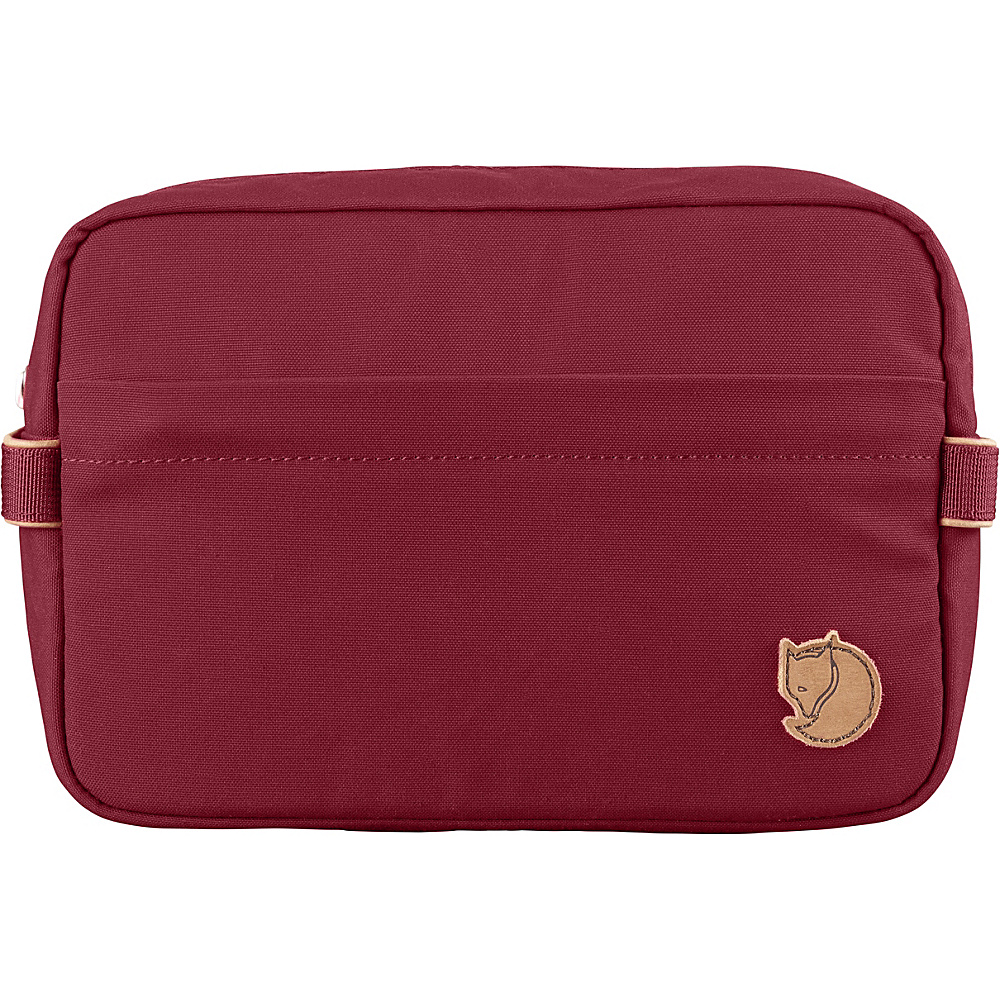 Fjallraven Travel Toiletry Bag Redwood - Fjallraven Toiletry Kits - Travel Accessories, Toiletry Kits