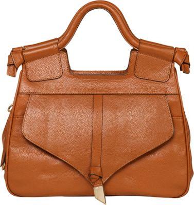 Foley + Corinna Brittany Satchel Honey Brown - Foley + Corinna Leather Handbags