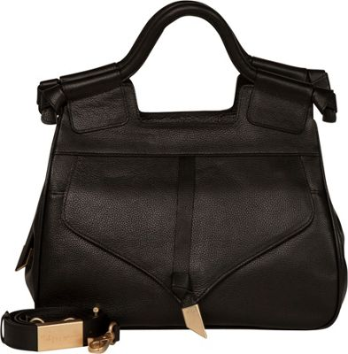 Foley + Corinna Brittany Satchel Black - Foley + Corinna Leather Handbags