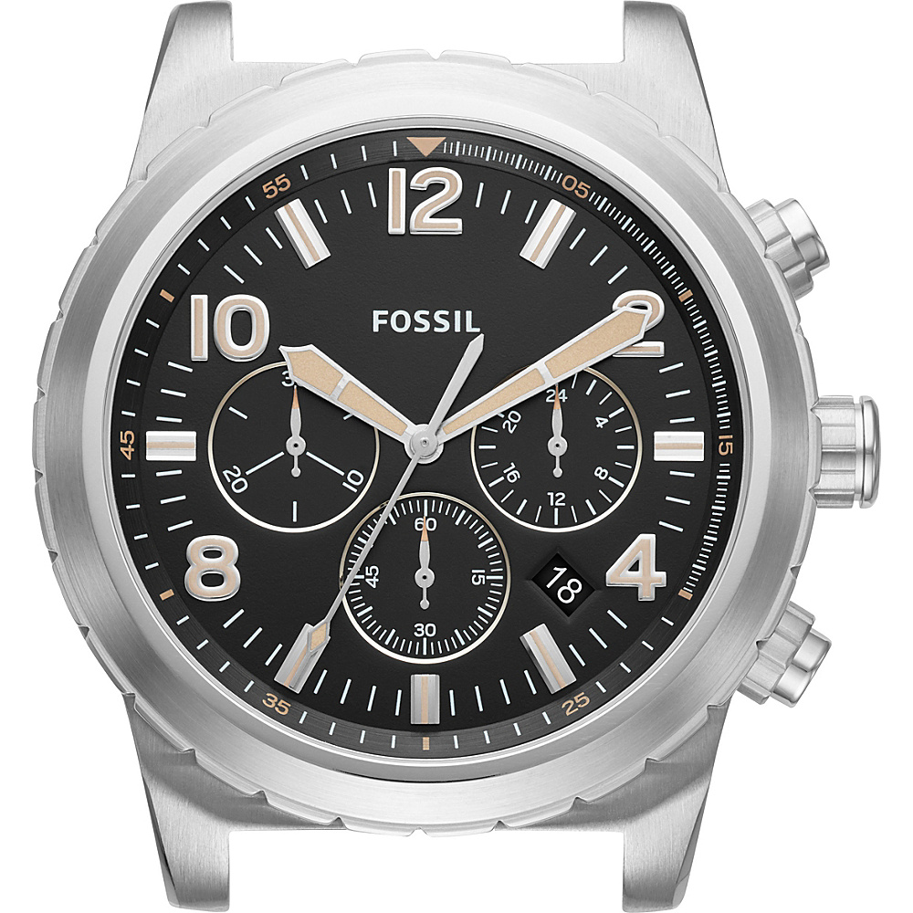 Fossil Oakman Chronograph Dial Silver - Fossil Watches - Fashion Accessories, Watches