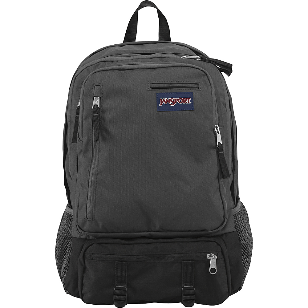 JanSport Envoy School Backpack- Discontinued Colors Forge Grey - JanSport Laptop Backpacks