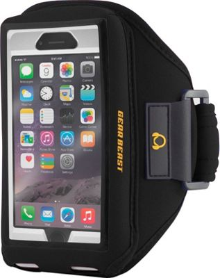 Gear Beast iPhone 7 Case Compatible Armband Black - iPhone 7 - Gear Beast Electronic Cases