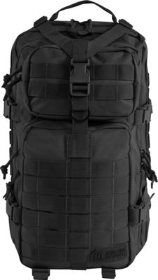 Highland Tactical Vantage Tactical Backpack with All-Around Compression Straps Black - Highland Tactical Tactical