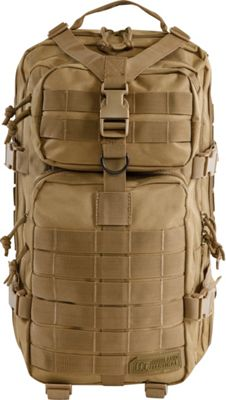 Highland Tactical Vantage Tactical Backpack with All-Around Compression Straps Desert - Highland Tactical Tactical