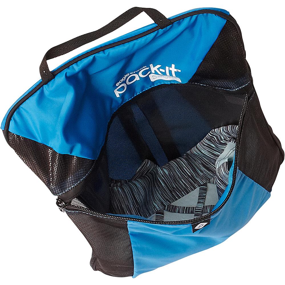 Eagle Creek Pack-It Sport Wet Dry Fitness Locker Fuchsia/Black - Eagle Creek Packing Aids