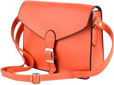 Something Strong Jennifer Crossbody/Satchel Orange - Something Strong Manmade Handbags