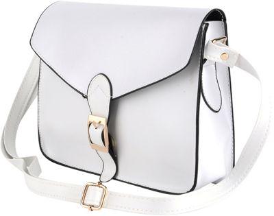 Something Strong Jennifer Crossbody/Satchel White - Something Strong Manmade Handbags