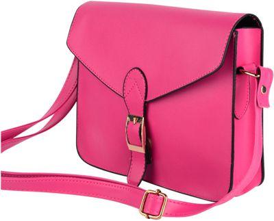 Something Strong Jennifer Crossbody/Satchel Pink - Something Strong Manmade Handbags