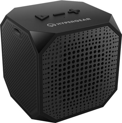 Hypergear Sound Cube Bluetooth Speakers, Rechargeable 5W Portable Wireless Speaker Compatible with All Bluetooth Devices, Build-in Microphone for iphone Ipad, Ipod Samsung Tablet Laptop - Black