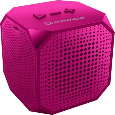 HyperGear Sound Cube Wireless Speaker Pink - HyperGear Headphones & Speakers