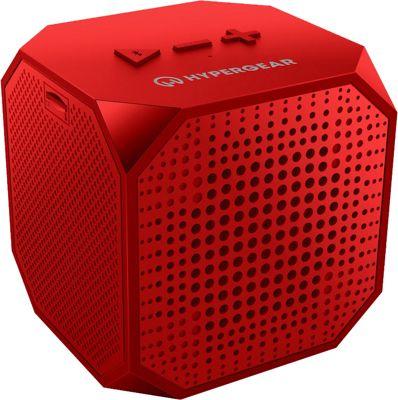 HyperGear Sound Cube Wireless Speaker Red - HyperGear Headphones & Speakers
