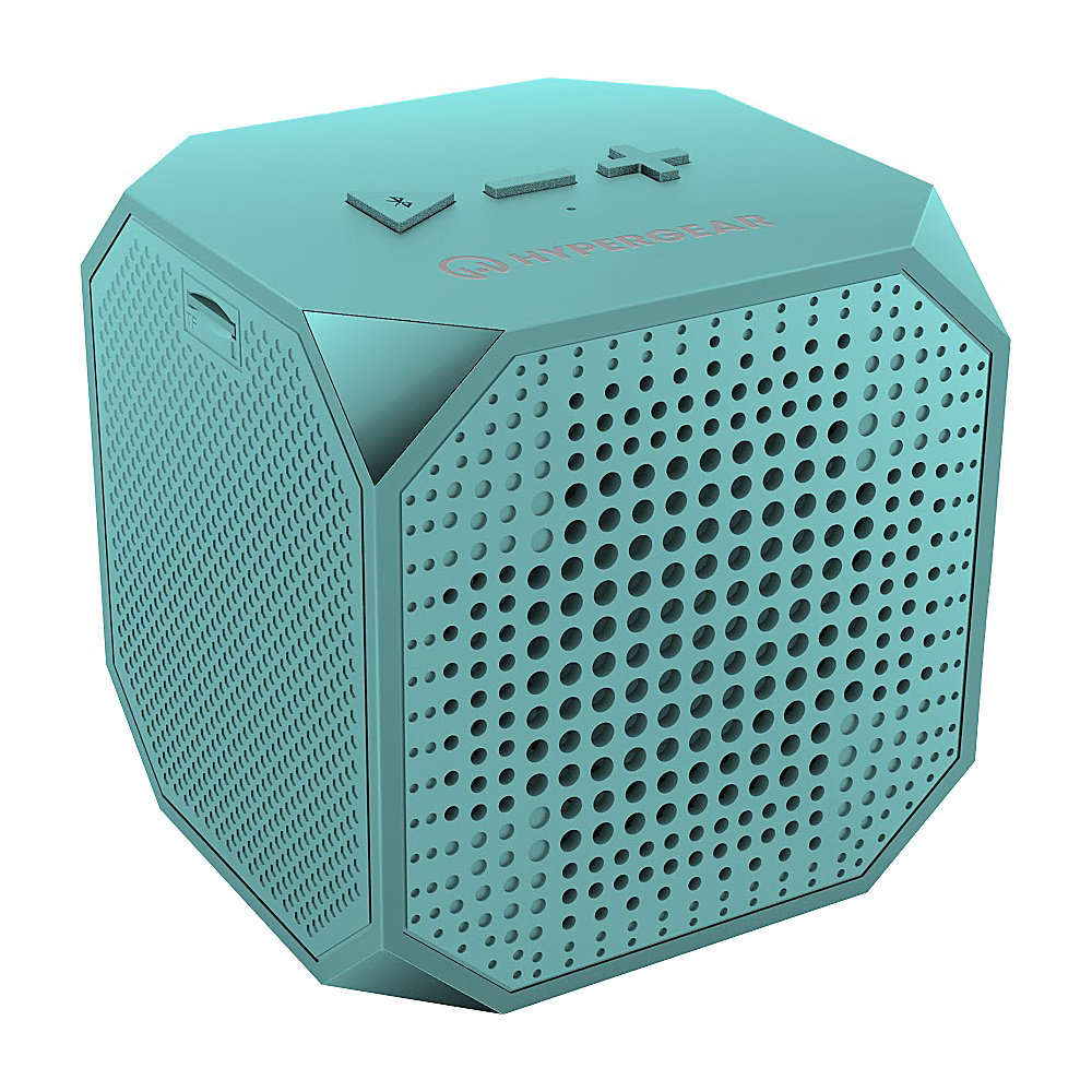 HyperGear Sound Cube Wireless Speaker Teal - HyperGear Headphones & Speakers Sound Cube Wireless Speaker Teal. The Sound Cube packs surprisingly powerful sound into a stylish ultra-compact speaker.