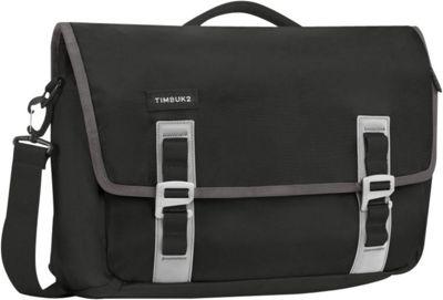 Timbuk2 Command TSA-Friendly Laptop Messenger - Medium Discontinued Colors Black/Gunmetal - Timbuk2 Messenger Bags