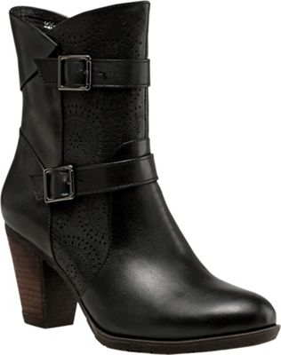 Vicenzo Footwear Zoey Chunky Heel Ankle Women Leather Boots 8 - Black - Vicenzo Footwear Women's Footwear