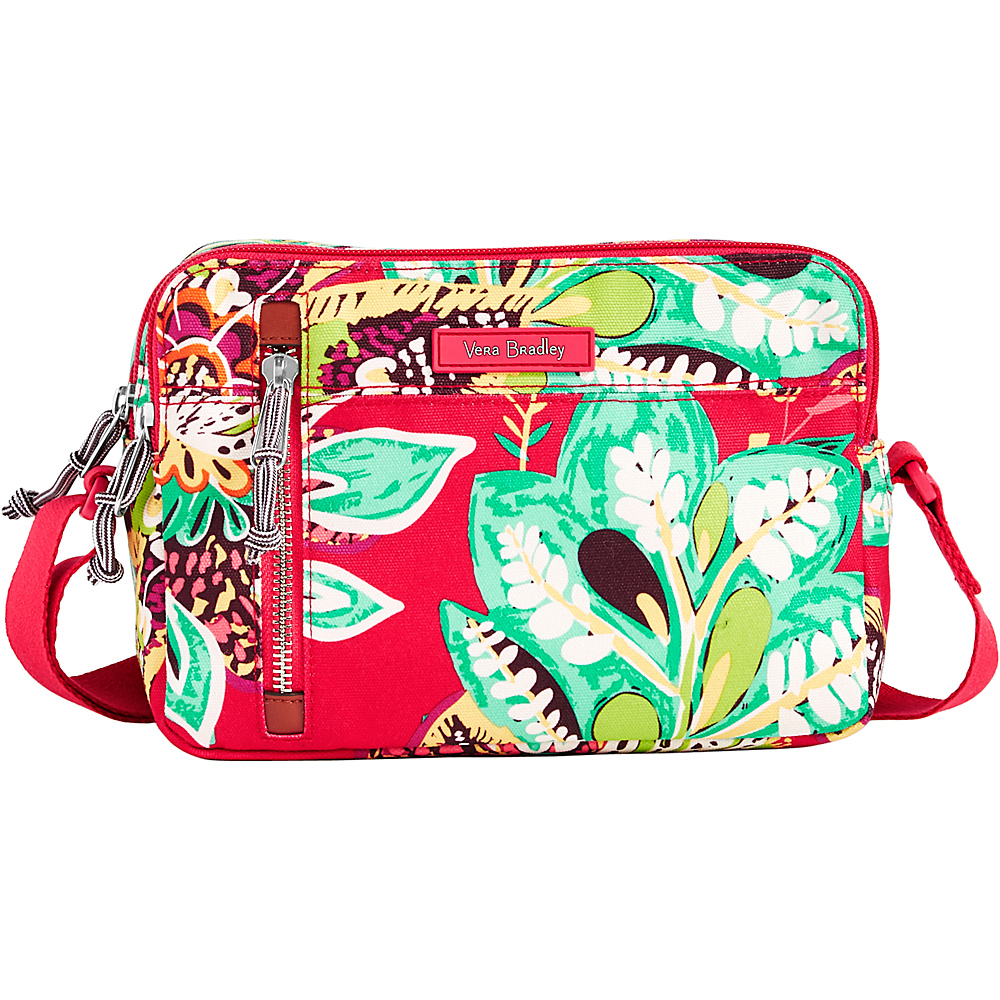 Vera Bradley RFID On the Horizon Crossbody Rumba - Vera Bradley Fabric Handbags - Handbags, Fabric Handbags