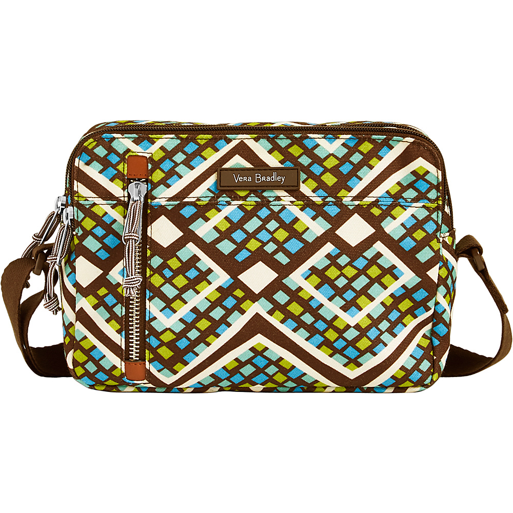 Vera Bradley RFID On the Horizon Crossbody Rain Forest - Vera Bradley Fabric Handbags - Handbags, Fabric Handbags